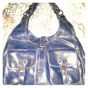 Pretty blue bag ANA